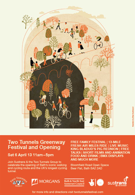 Two Tunnels Festival Poster Image