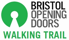 Bristol Opening Doors Walking logo